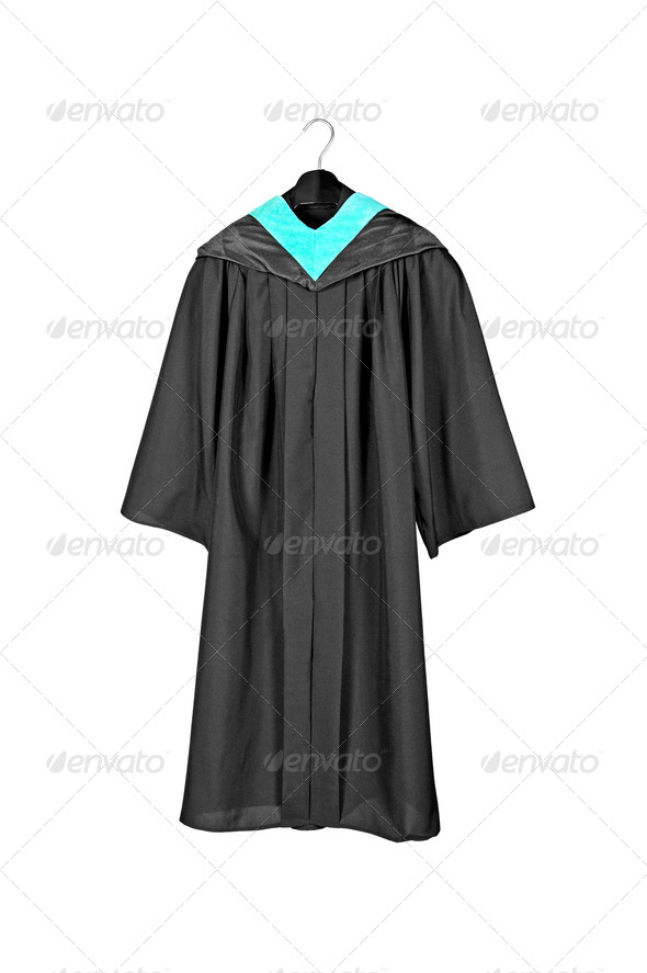 Graduation Gown - Stock Photo - Images