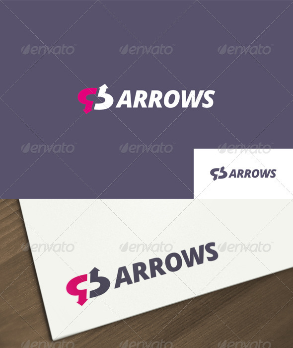 Arrows Logo - Symbols Logo Templates