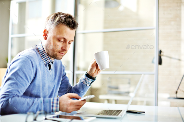 Day in office - Stock Photo - Images