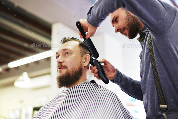 Haircut - Stock Photo - Images