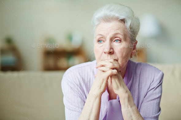 Elderly woman - Stock Photo - Images