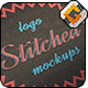 3 Photorealistic Stiched Logo Mock-ups - GraphicRiver Item for Sale