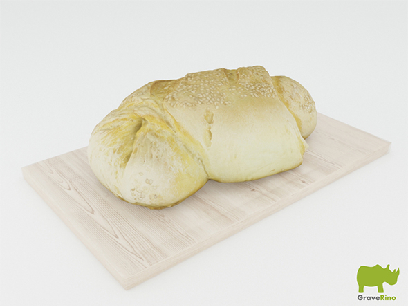 Bread 3D Model - 3DOcean Item for Sale