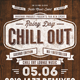Chill Out Flyer/Poster V. 02 - GraphicRiver Item for Sale