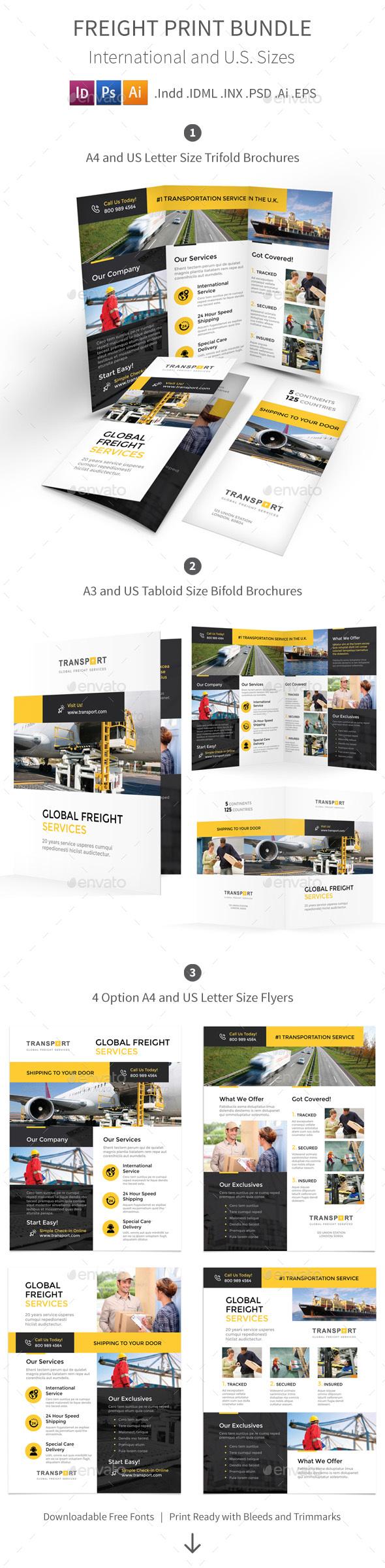 Freight Print Bundle - Corporate Brochures