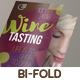 Wine Tasting Bi-Fold Brochure - GraphicRiver Item for Sale