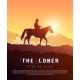 Vector Poster Wild West. Loner. - GraphicRiver Item for Sale