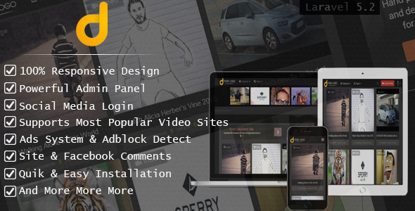Darky - Viral Media Sharing Script - CodeCanyon Item for Sale