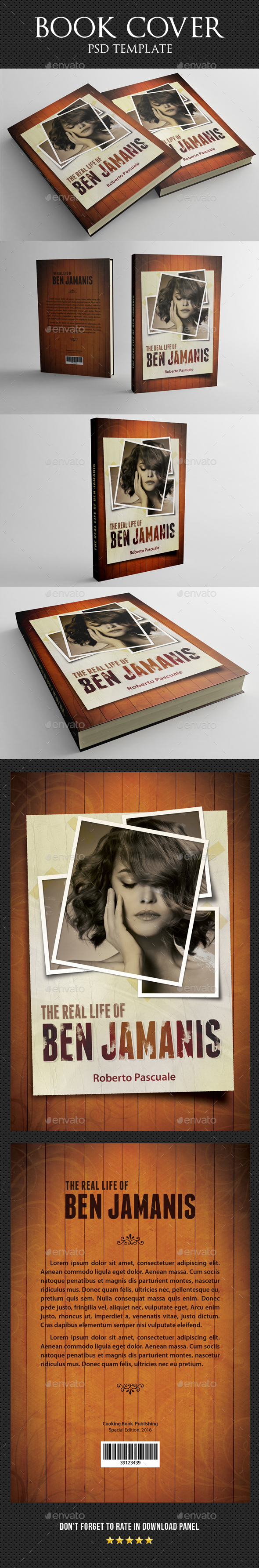 The Real Life Book Cover - Miscellaneous Print Templates