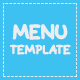 Stylish and Modern Menu Template - GraphicRiver Item for Sale