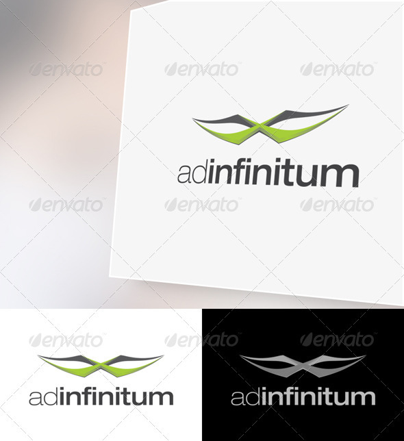 AdInfinitum Logo Template - Vector Abstract