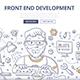 Front End Development Doodle Concept - GraphicRiver Item for Sale