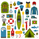 River Camping Set - GraphicRiver Item for Sale