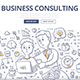 Business Consulting Doodle Concept - GraphicRiver Item for Sale