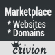 PHP Website and Domains Marketplace - CodeCanyon Item for Sale