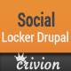 Social Content Locker for Drupal