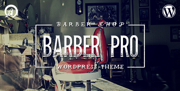 Barber Pro – Professional Barber Shop WordPress Theme