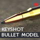 AK-47 3D model bullet keyshot Bundle