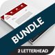 Corporate Letterhead Bundle - GraphicRiver Item for Sale