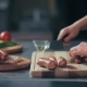 Cutting The Sausages On a Cutting Board - VideoHive Item for Sale