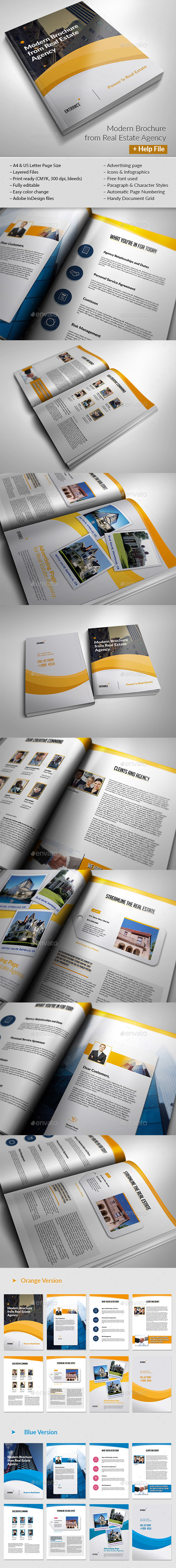 Real Estate Brochure - Brochures Print Templates