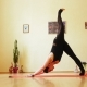 Girl Is Engaged In Yoga - VideoHive Item for Sale