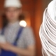 Electrician On The Background Of The Cable - VideoHive Item for Sale