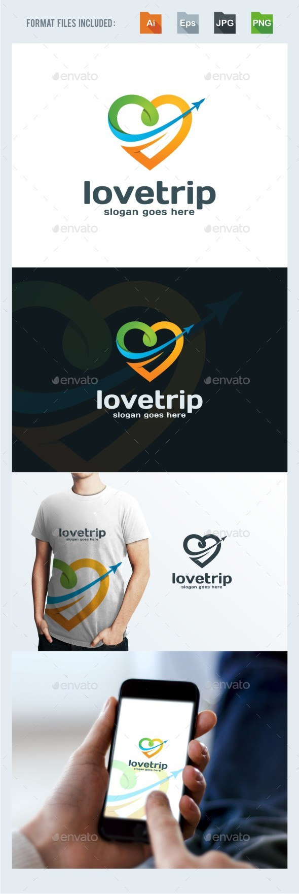 Traveling Logo Template - Symbols Logo Templates