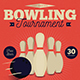 Vintage Bowling Tournament Flyer - GraphicRiver Item for Sale