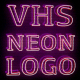 VHS Neon Logo - VideoHive Item for Sale