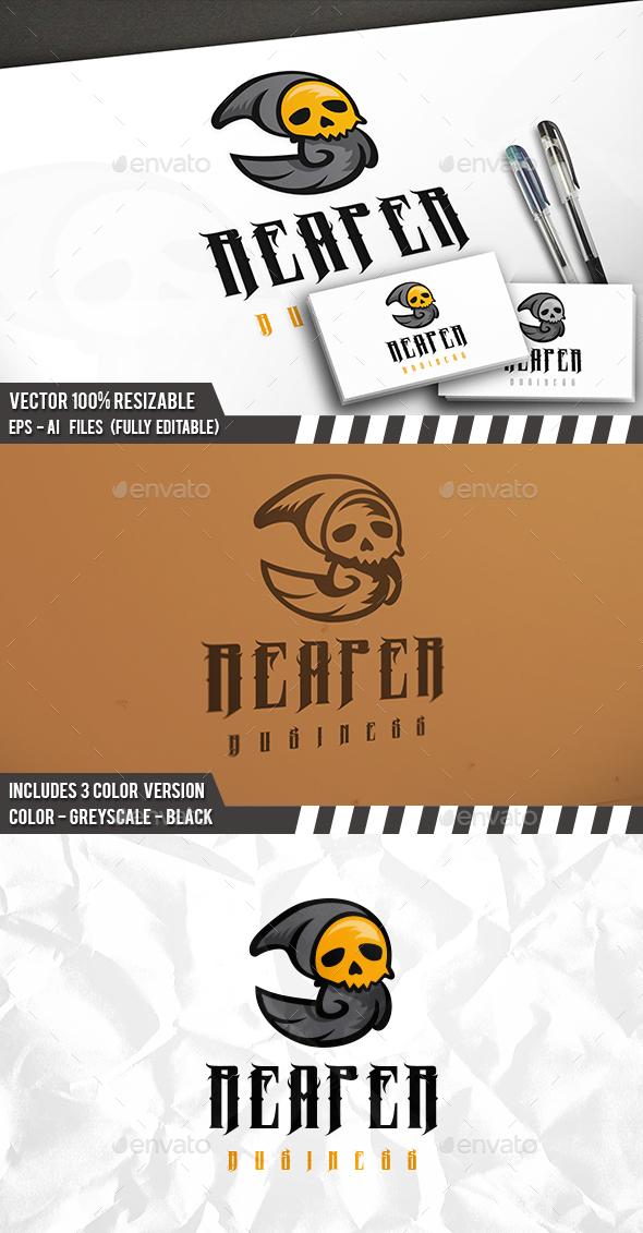 Death Logo Template - Humans Logo Templates