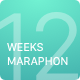 12 Weeks Marathon UI Kit - ThemeForest Item for Sale