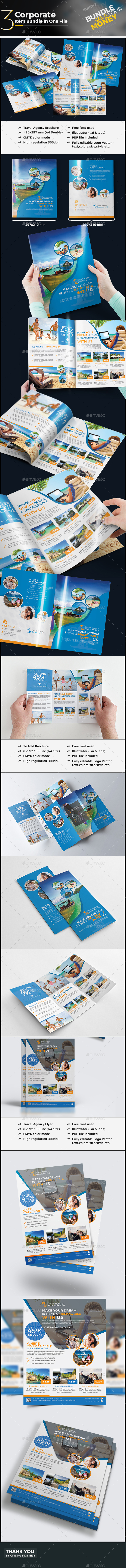 Travel Agency Branding Bundle - Corporate Brochures