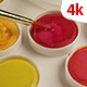 Acrylic Paint With Brush 202 - VideoHive Item for Sale
