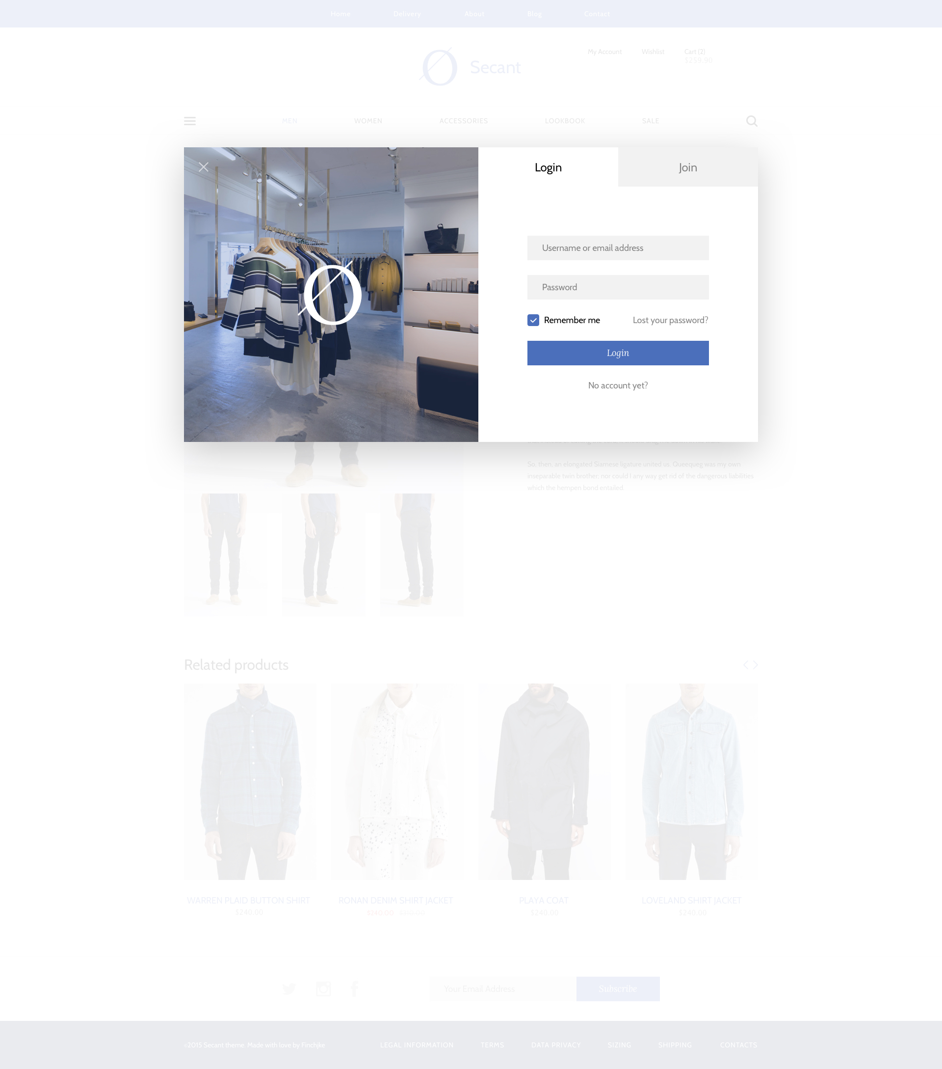Secant Ecommerce Sketch Template By Finchjke Themeforest