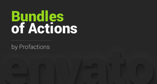 Bundles of PS Actions