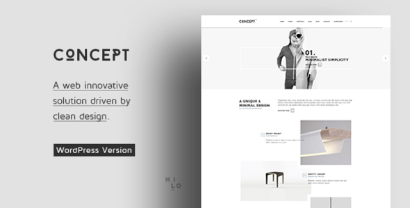 Concept – Design-Driven Multipurpose WordPress Theme