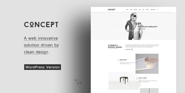 Concept - Design-Driven Multipurpose WordPress Theme
