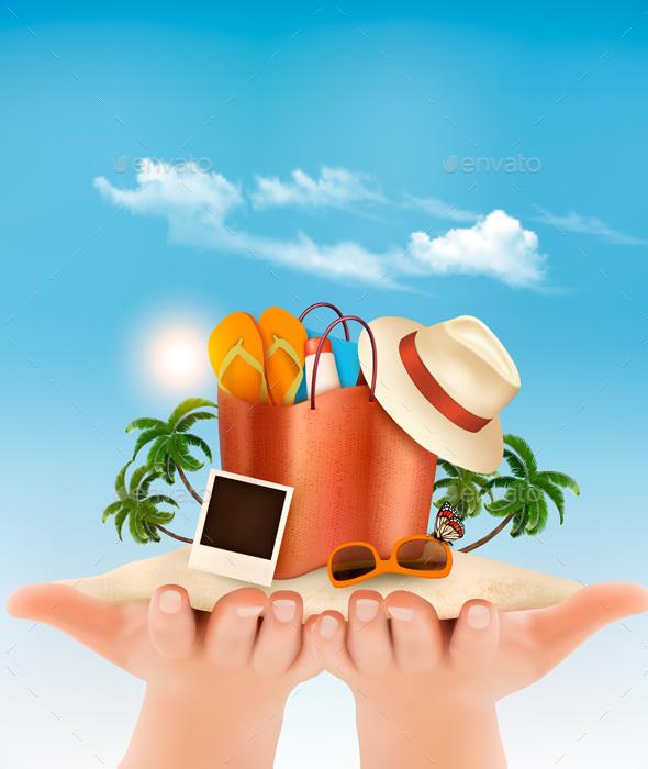 Vacation Concept. - Travel Conceptual