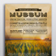 Mussum Event Poster Template - GraphicRiver Item for Sale