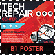 Tech Repair Center Signage B1 Poster - GraphicRiver Item for Sale