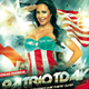 Patriot Day Celebration Party Flyer - GraphicRiver Item for Sale
