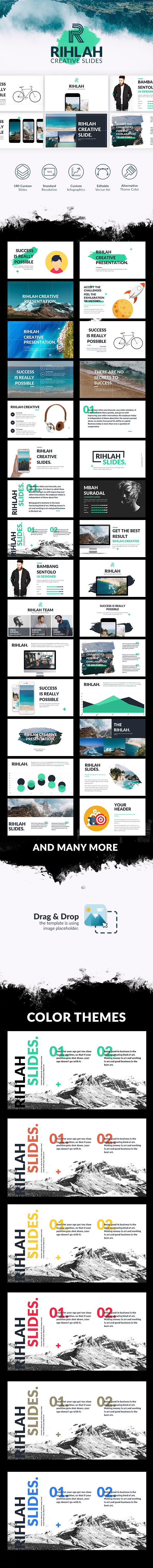 Rihlah Creative Powerpoint - Creative PowerPoint Templates