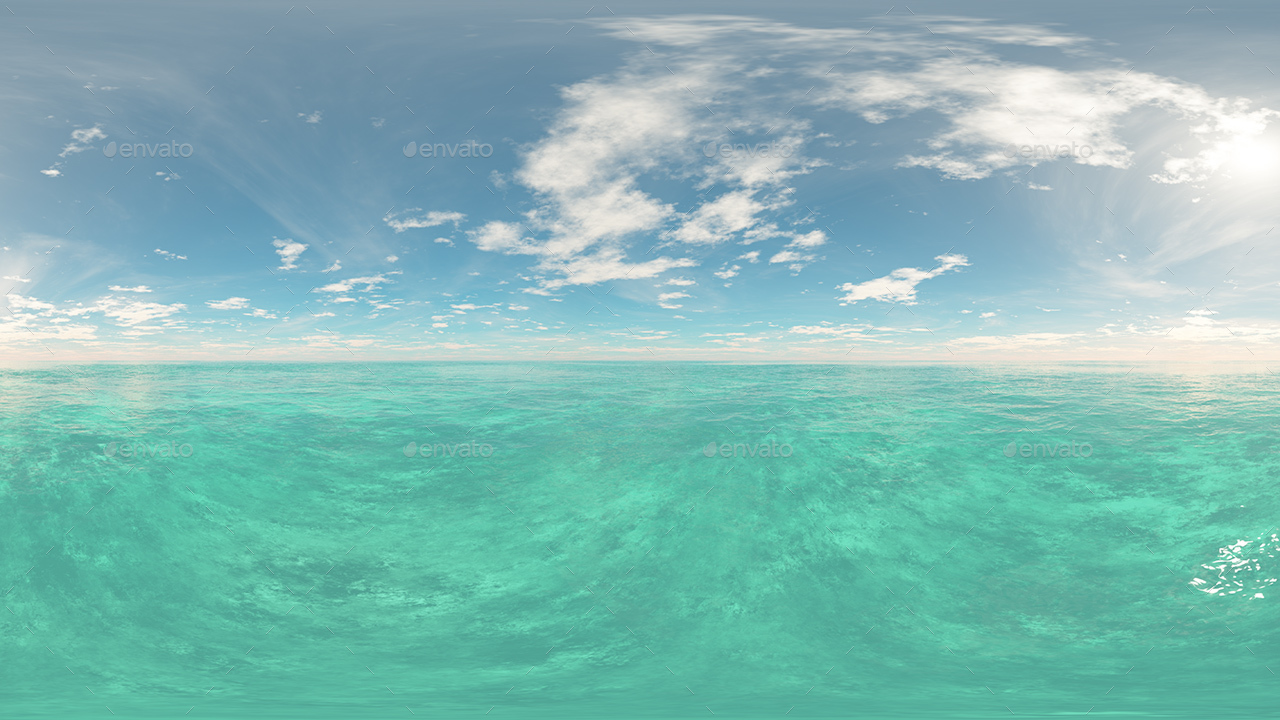 Hdr Water Skies By 7030 Artwork 3docean