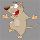 Set of Cartoon Rats for your Design - GraphicRiver Item for Sale
