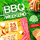 BBQ Party Flyer vol.3 - GraphicRiver Item for Sale
