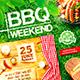 BBQ Party Flyer vol.3