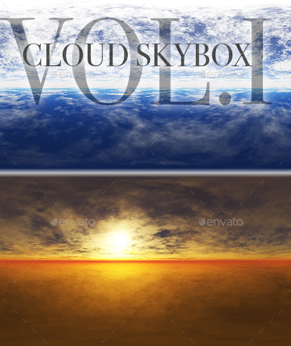 Cloud Skybox Pack Vol.I - 3DOcean Item for Sale