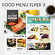 Food Menu Flyer 3 - GraphicRiver Item for Sale