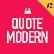 Quote Modern - VideoHive Item for Sale